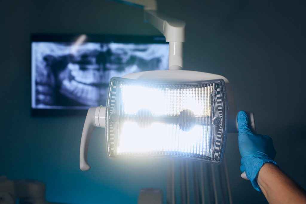 Overhead Dental Lamp